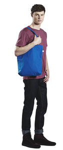 Earth Positive Organic Fashion Bag - Stoffbeutel, Einkaufsbeutel, Stofftasche - WEIß - Earth Positive