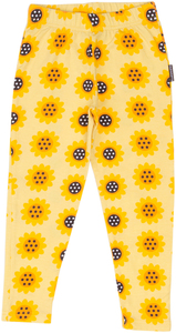 Leggings SUNFLOWERS (GOTS-zertifiziert) - maxomorra