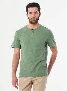 Henley-Shirt aus Bio-Baumwolle und Leinen - ORGANICATION