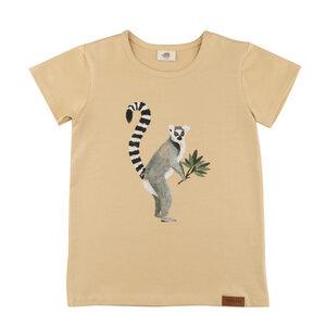 Baby/ Kleinkind T- Shirt *Lemurs* GOTS zertifiziert | Walkiddy - Walkiddy