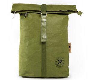 Rucksack aus Papier, robust, wasserfest & vegan Rolltop - PAPERO