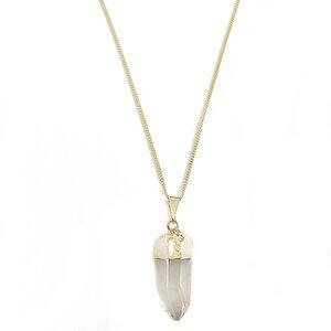 Elv – Bergkristall Halskette von Crystal and Sage - Crystal and Sage