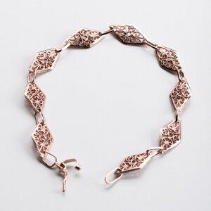 "Unikat: Vintage Armband ""Raute"" - MishMish by WearPositive"
