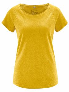 HempAge Damen T-Shirt Hanf/Bio-Baumwolle - HempAge