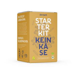 Keinkäse Starter Kit - vegane Käsealternativen selber machen - Fairment