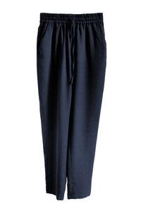 Damenhose Frida mit Gummibund aus Tencel - l'amour est bleu