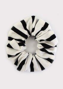 Scrunchie - Haargummi aus Jersey - börd shört