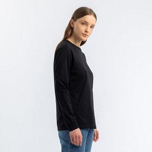Rights Langarm T-Shirt - Rotholz