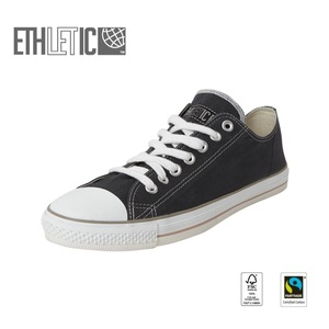 Fair Trainer  Lo Cut Collection15 Pewter Grey | Just White - Ethletic