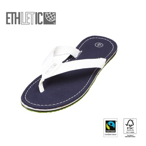 Fair Flip Classic Ocean Blue | Just White - Ethletic