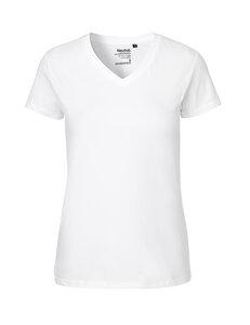 T-Shirt V-Ausschnitt Frauen - Neutral® - 3FREUNDE