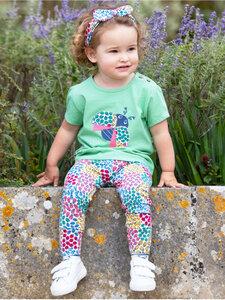 Baby und Mädchen T-Shirt Ladybird reine Bio-Baumwolle - Kite Clothing