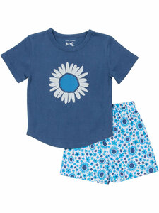 Kinder Schlaf-Shorty reine Bio-Baumwolle - Kite Clothing