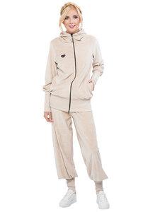 Loungewear Anzug aus kuscheligem Bio Baumwoll-Nicky - Milchshake