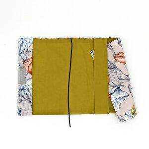Notizbuchhülle A5 Blütenzauber - dress2bless