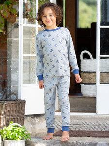 Kinder Schlafanzug Fußball reine Bio-Baumwolle - Kite Clothing
