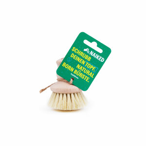 Topfbürste aus Holz | plastikfrei | in Deutschland hergestellt - NAIKED