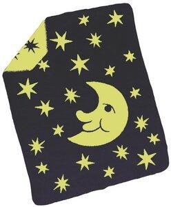 Baby Decke Luna anthrazit 75*100 Bio Baumwolle - Richter Textilien