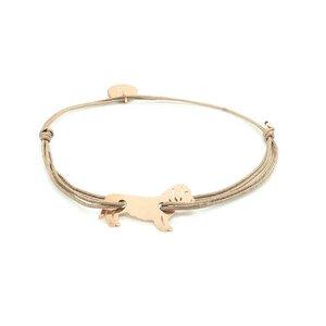 Armband Zamperl rosévergoldet - MUNICH JEWELS