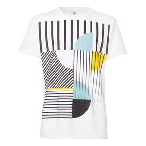 ThokkThokk Art Déco Miami T-Shirt white - THOKKTHOKK
