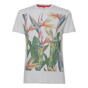 ThokkThokk Paradiseflower T-Shirt melange grey - THOKKTHOKK