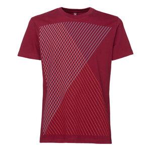 ThokkThokk Spacegrid T-Shirt Ruby - THOKKTHOKK