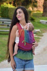 Baby Tragehilfe MySol Paradise bunt - Girasol