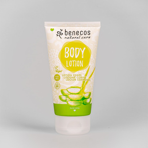 Naturkosmetik - Körperlotion - Aloe Vera - vegan - 150 ml - benecos