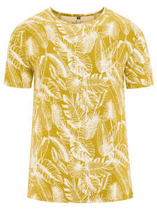 Herren T-Shirt Print Hanf/Bio-Baumwolle - HempAge