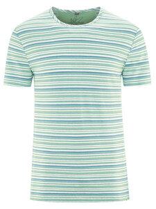 HempAge Herren Streifen T-Shirt Hanf/Bio-Baumwolle - HempAge