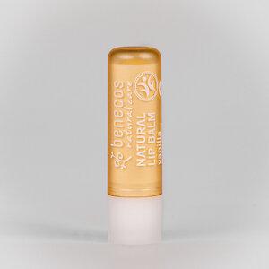 Naturkosmetik - Lippenbalsam - Vanille - vegan - benecos