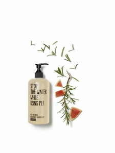 All Natural Rosmarin Grapefruit Shampoo - Stop The Water While Using Me!