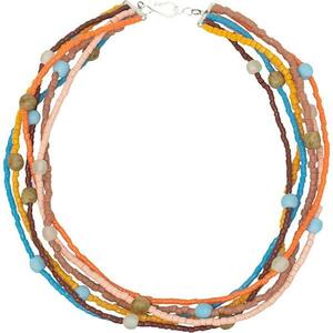 Upcycling Glasperlen Halskette - RAINBOW DESERT - Global Mamas - Global Mamas