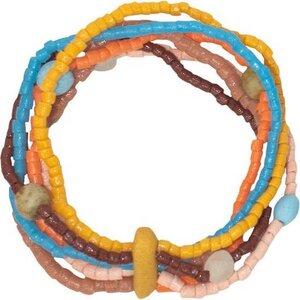 Upcycling Glasperlen Armband - RAINBOW DESERT - Global Mamas - Global Mamas
