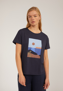 NELAA CALM SEA - Damen T-Shirt aus Bio-Baumwolle - ARMEDANGELS