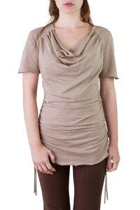Shirt / Kleid Camelia taupe - Ajna