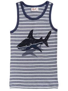 Jungen Unterhemd Hai reine Bio-Baumwolle - People Wear Organic