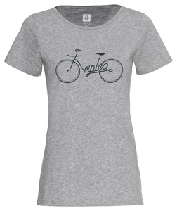 TUUR een - Bike - Organic Cotton Jersey - Women - triple2