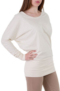 Langarmshirt Elly off white - Ajna