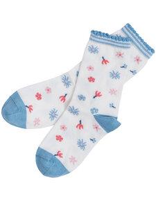 Kinder Socken Blümchen Bio-Baumwolle - People Wear Organic