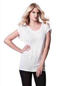 Women's Rolled Sleeve Tunic Shirt - Continental Clothing