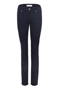 Womens Slim Jeans Dark Blue One Wash - goodsociety