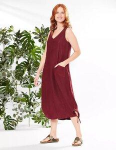 Leinen-Kleid Ainoa aus 100% Deerberg-Leinen - Deerberg