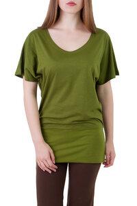 Oversize T-Shirt Gina grün - Ajna