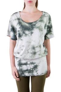 Oversize T-Shirt Gina batik forest - Ajna