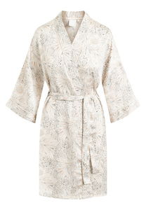 "Mittellanger Kimono ""Jean Kimono Pinktint"" pink tint AOP - CCDK"