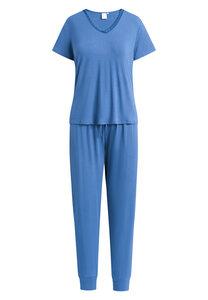 """Pyjama Set, lange Hose und kurzärmeliges T-Shirt """"Jordan S/S"""" True navy - CCDK"""