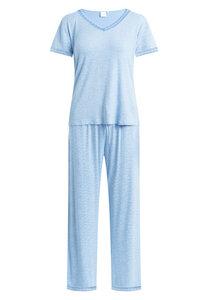 "Pyjama Set, lange Hose und kurzärmeliges T-Shirt ""Jordan S/S"" Allure AOP - CCDK"