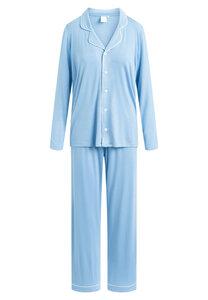 "Pyjama Set, lange Hose und Langarmhemd ""Joy L/S"" Allure blue - CCDK"