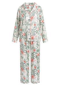 "Pyjama Set, lange Hose und Langarmhemd ""Josephine L/S"" chalk AOP - CCDK"